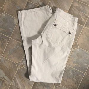 Silver Sudan Cargo Pants
